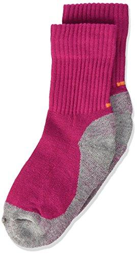 Camano unisex-child 9301 Socken, Pink (Fuchsia 0042), 27-30 (4er Pack)