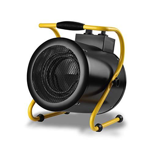 ZZLYY Calentador De Ventilador Eléctrico Industrial,Calentador De Aire 3000W, Protección contra Sobrecalentamiento, para Taller Almacén Almacén Garaje,5000W