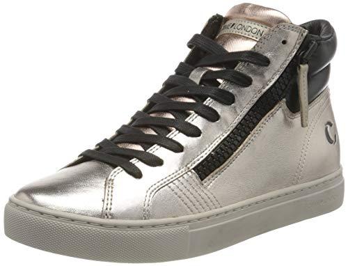 Crime London Damen Java HI Sneaker, Rose Gold, 38 EU