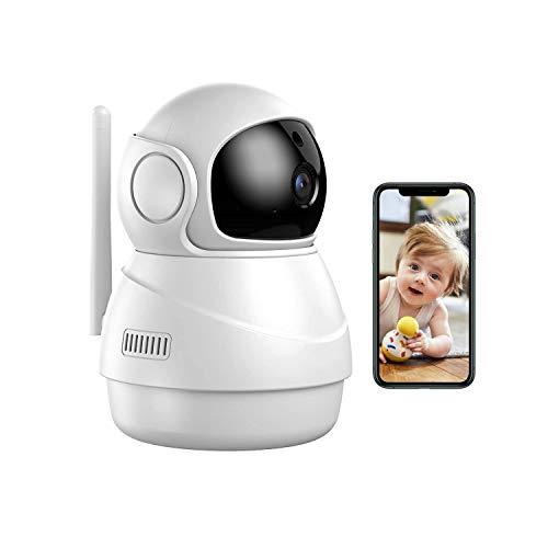 Telecamera di Sorveglianza WiFi 1080P con Funzione di Tracciamento Del suono, La Telecamera IP Può Osservare Le Dinamiche In Tempo Reale di Anziani   Bambini   Animali Domestici