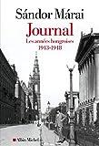 Journal - Les années hongroises 1943-1948