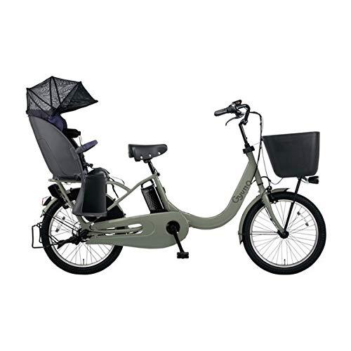 PANASONIC ギュット・クルームR・EX 電動アシスト自転車 (20インチ・内装3段変速) BE-ELRE03-G マットオリーブ