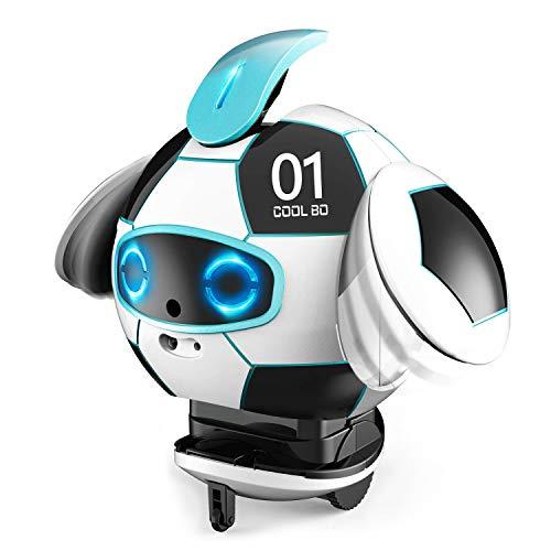 okk Robot Intelligente, Robot interattivo con Registrazione robotica parlante, Canto interattivo, Danza e deformazione, percezione tattile e Regali di apprendimento per i Bambini