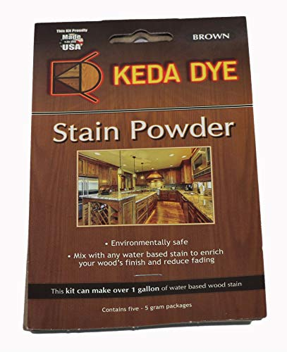 Keda Golden Brown Wood Dye - Keda Powder Dye