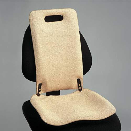 Backfriend Back Support, Lumbosacral und Steißbein Unterstützung, Lower Back Bad für Bürostühle und Autositze, Sitzkissen für Padding des unteren Rücken und Trunk, Orthopädische Rückenstütze, Standard