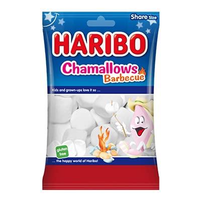 Haribo Chamallows BARBECUE- party feste candy - confezioni da 175gr (6 confezioni)