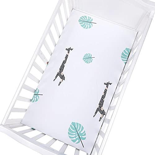 CCSMT Acogedor Newborn Baby Pitted Cuna Sheets130 * 70 cm Hoja de lecho de Dibujos Animados Pastilla de Cama para bebé Cubiertas de colchón para niñas para bebés Unisex para Hotel en casa