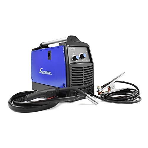 MIG 145A Draht Schweißgerät mit Taschenlampe, Massenzange zum Löten von Fäden und Volldraht