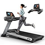 Sportstech F75 High-End Laufband mit großer Lauffläche 580x1600mm, Android 15,6