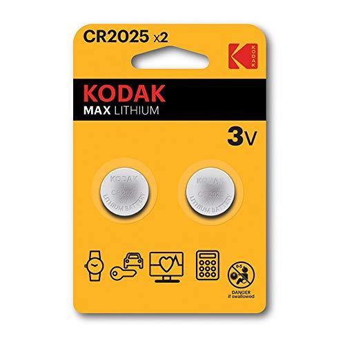 Kodak Pilas Litio Cr2025 Ultra MAX Lithium 3V (2 Uds)