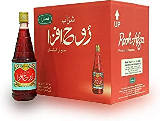 Rooh Afza Syrup Mixed Flavor Juice - 800 ml x 12