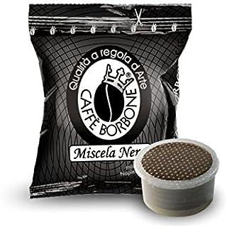 50 Capsule Point Miscela Nera Caffè Borbone Compatibili Lavazza Espresso Point fap