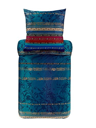 Bassetti Malve B1 - Juego de Cama (140 x 220 cm), Color Azul