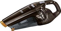 AEG ECO Li 23 Rapido AG6108C Akkusauger (beutellos, Handstaubsauger mit 10,8 V Lithium-Power-Akku, Intelligente Ladeabschaltung, inkl. Fugendüse) braun
