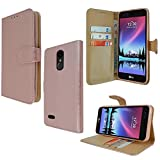 Premium Leather Cover For LG K9 X210 (5.0