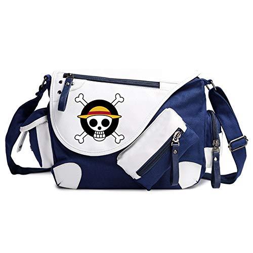 Anime ONE PIECE Cosplay Mochila Messenger Bag Bolsa de...