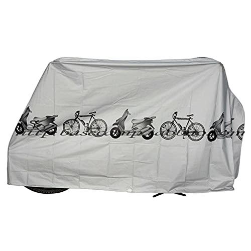 Theaceae Funda impermeable para bicicleta, para portabicicletas, impermeable, transpirable, protección para la...