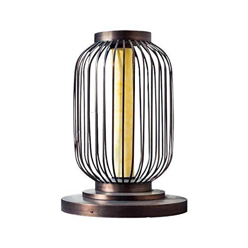 Buitenverlichting, padverlichting, buitenwandlamp, schijnwerper, waterdichte vogelkooi lantaarnpaal wandlamp deurlamp vierkant verlichtingsproject
