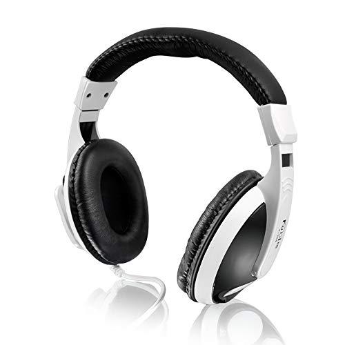 LODDD Kubite T-155 Gaming Headset Headband Headphone USB 3.5mm LED with Mic for PC