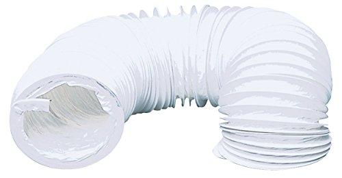 TronicXL Trocknerzubehör PVC Abluftschlauch 100 mm 6 m für Trockner Klimaanlage etc. Schlauch für Abluft