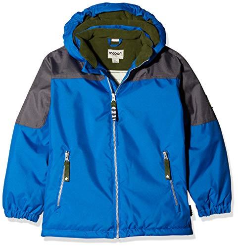 Racoon Jungen Claudio Solid Jacket Jacke, Blau (Princess Blue PRI), 110