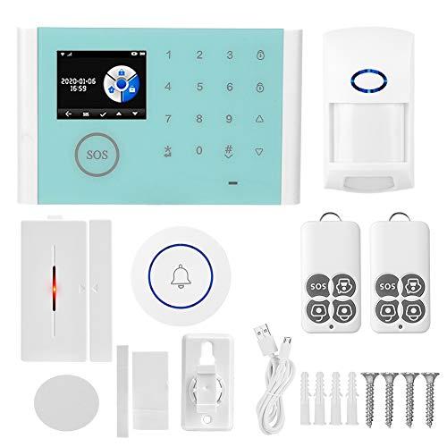 Einbruchdetektor, WiFi-Detektor, Detektor, Alarmsystem, 2,4-Zoll-Funk-Einbruchalarm, Home for Home Security, Alexa Work, Google