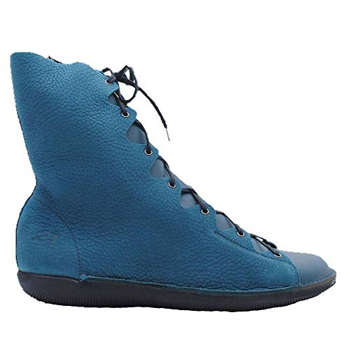 LOINTS - Stiefelette Natural Petrol/Turquoise 40