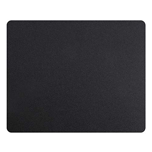 Gaming Mouse Pad Carbon Fiber Surface Gaming Mat Mouse Mat for Game/ Office/ Home/ Work (Black, 10 1/4x8 1/4x3/32 inch)
