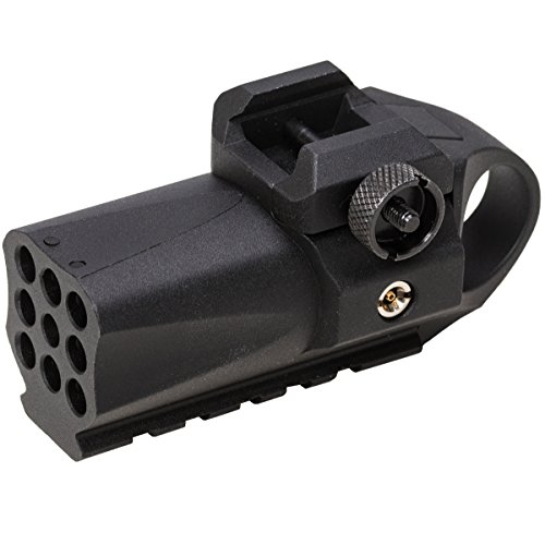 BATON airsoft Micro Shot [ Compact 40BB 20mm Rail Mount Mounted Launcher ]