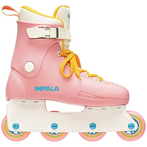 Impala Lightspeed Inline Skate (US 10 / EU 41 / UK 8, Pink/Yellow)