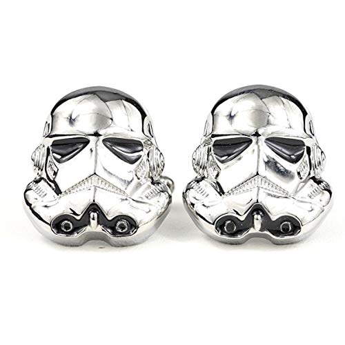 Premium Star Wars Stormtrooper Manschettenknöpfe mit Geschenkbox