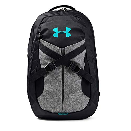 Under Armour Recruit Backpack 2.0, Black (002)/Breathtaking Blue, One Size Fits All