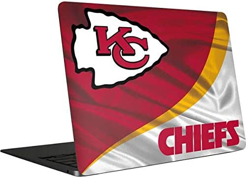 Skinit Decal Laptop Skin Compatible with MacBook Air 13in 2020 Officially Licensed NFL Kansas product image