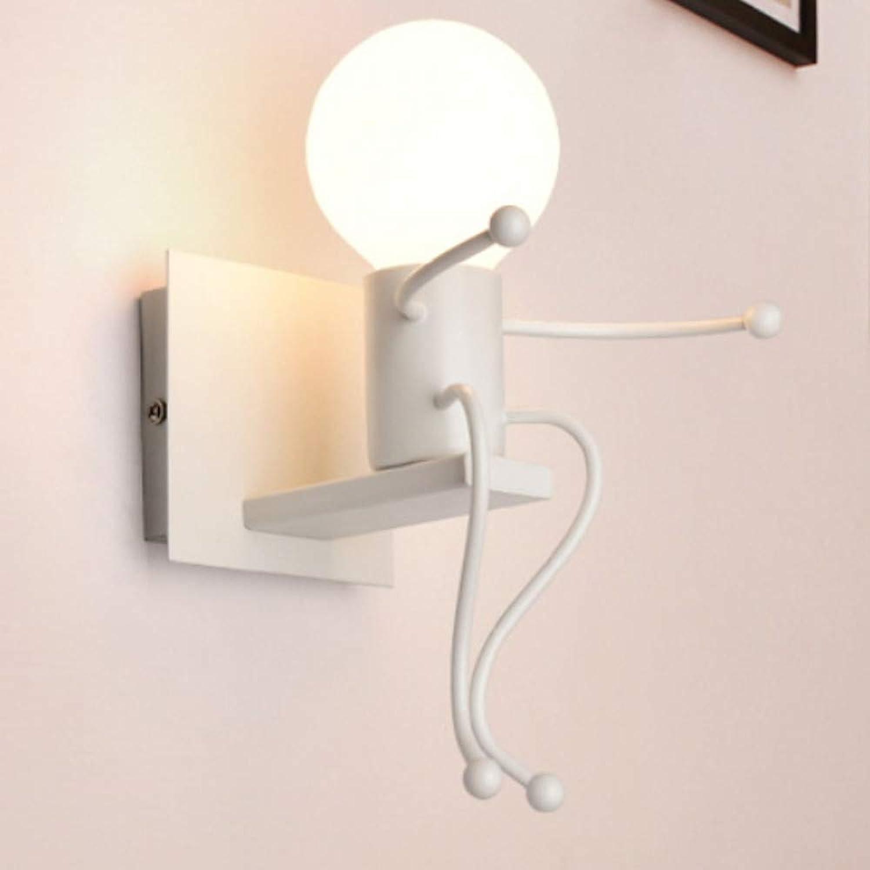 Blendschutz moderne zeitgenssische Wandleuchten Wandlampen Wohnzimmer Metallwandleuchte, rot
