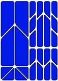 Riesel Design - re:Flex Plus - Pegatinas reflectantes - Seguridad en la oscuridad - Azul