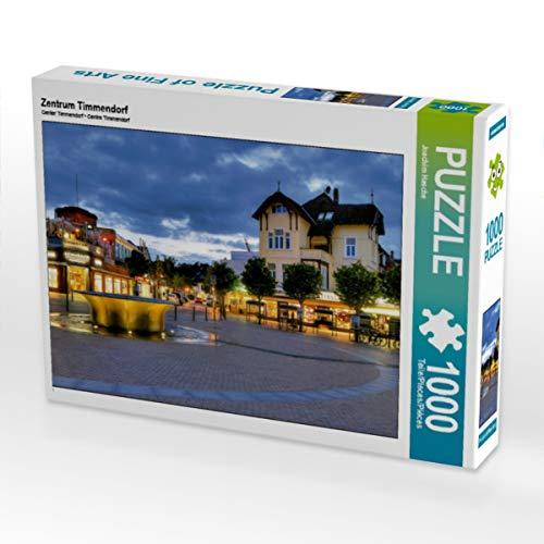 CALVENDO Puzzle Zentrum Timmendorf 1000 Teile Lege-Größe 64 x 48 cm Foto-Puzzle Bild von Joachim Hasche