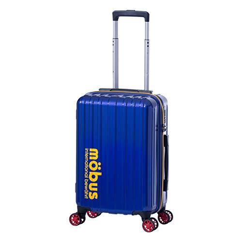 [アジアラゲージ] モーブス スーツケース 機内持ち込み 32L 33.5cm 2.5kg MBC-1908-18 ハード ファスナー mobus×A.L.I TSAロック搭載[09/12] ブルー