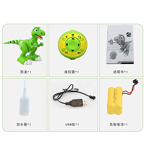 FQMAO Remote Control Dinosaur Toy, Kids Electric Dinosaur Toy RC Animal Toys with Walking, Simulation Roaring, Screaming, Shaking Head, Flapping Wings Functions, Gifts for Boys Girls Children,A