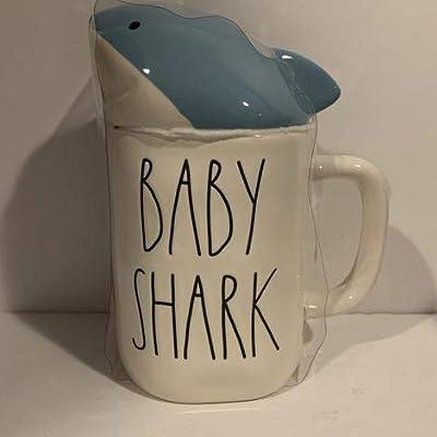 Rae Dunn BABY SHARK Mug - ceramic - 16oz - gift