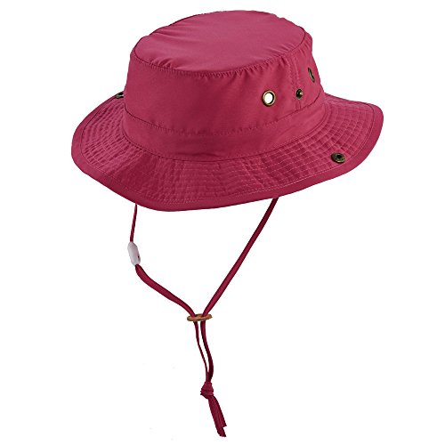 UV boonie hat for Kids from Scala - Fuchsia