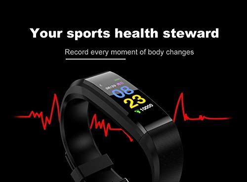 Fitness Tracker, reloj de pulsera de actividad con monitor de presión