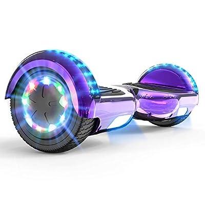 """MARKBOARD Self Balancing Scooter 6.5"""" Skateboard Built in Bluetooth Speakers Hoverboard kinder Electric Scooter Hoverboard Segway LED lights Gift for kids"""
