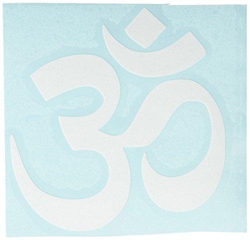 Keen OM Symbol Hindu Car Window Vinyl Decal Sticker 4' Wide