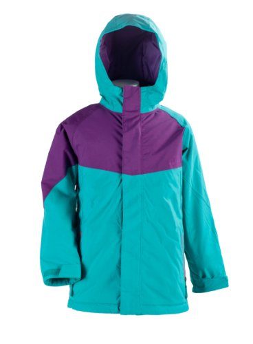 Nitro Kinder Jacke Girls Limelight, Turq/Purple, M, 1121-872858_1216