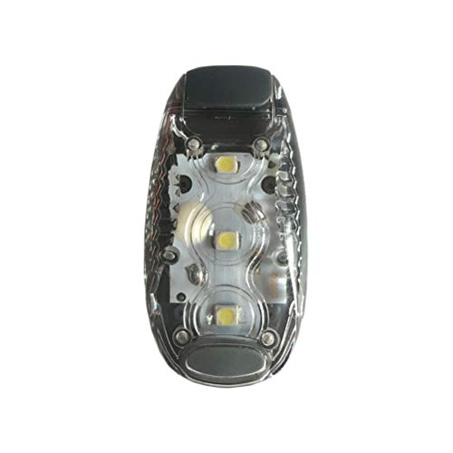 Yeyll LED-Sicherheitslicht, zum Anklippen, Stroboskop-/Lauflicht für Läufer, Hunde, Fahrrad, Spaziergänge | das beste Zubehör für Ihre reflektierende Ausrüstung, Fahrrad usw.