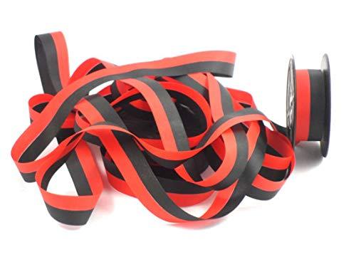 Smith Corona Typewriter Ribbon Black and Red Ink Twin Spool