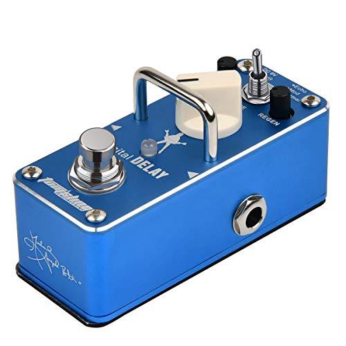 Tom'sline Engineering Digital Delay y Echo Delay Pedal APE3S de Michael Angelo Batio efecto de guitarra guitarra
