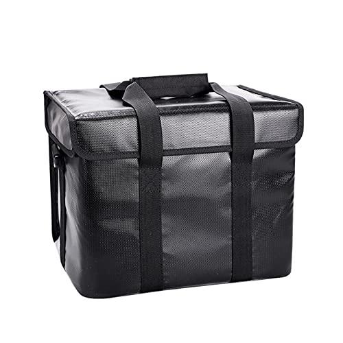 Bolsa Lipo Safe, bolsa ignífuga a prueba de explosiones, protector de almacenamiento seguro para batería Lipo de gran capacidad, para protección y almacenamiento de la batería Lipo con correa para el