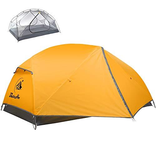 ButcHer Tenda Campeggio 2 Posti,Protezione UV Impermeabile PU 3000MM +,Tenda Igloo Facile da...