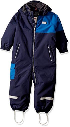 Lego Wear Baby - Jungen Lego duplo Tec Play LWJULIAN 714 - Skianzug/Schneeanzug Schneeanzug,per Pack Blau (Dark Navy 590),86 (Herstellergröße:86)